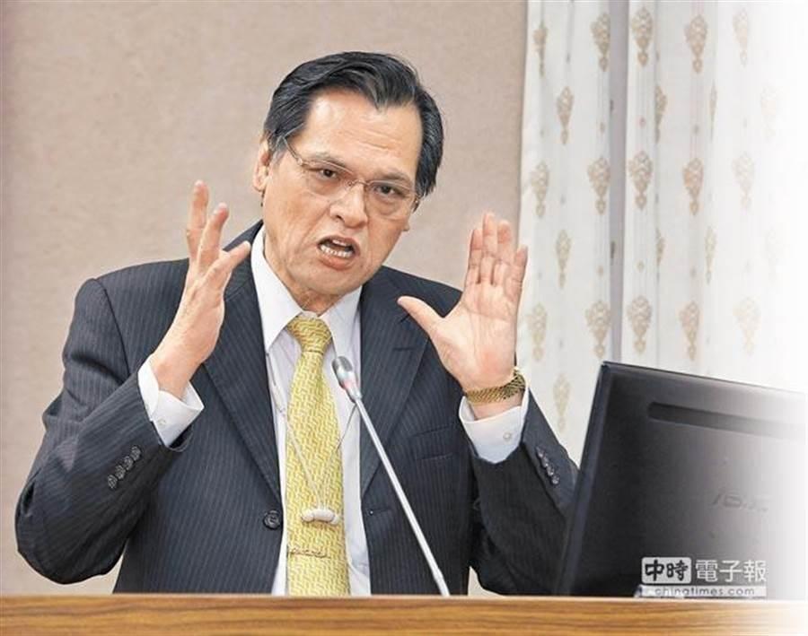 陸委會主委陳明通。(圖/本報資料照)