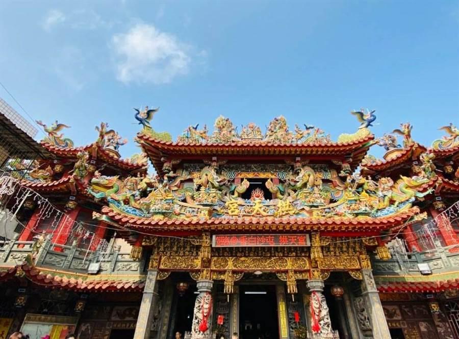 白沙屯媽祖進香7月5日啟程,通霄警方宣布交管措施。(通霄警分局提供/巫靜婷苗栗傳真)