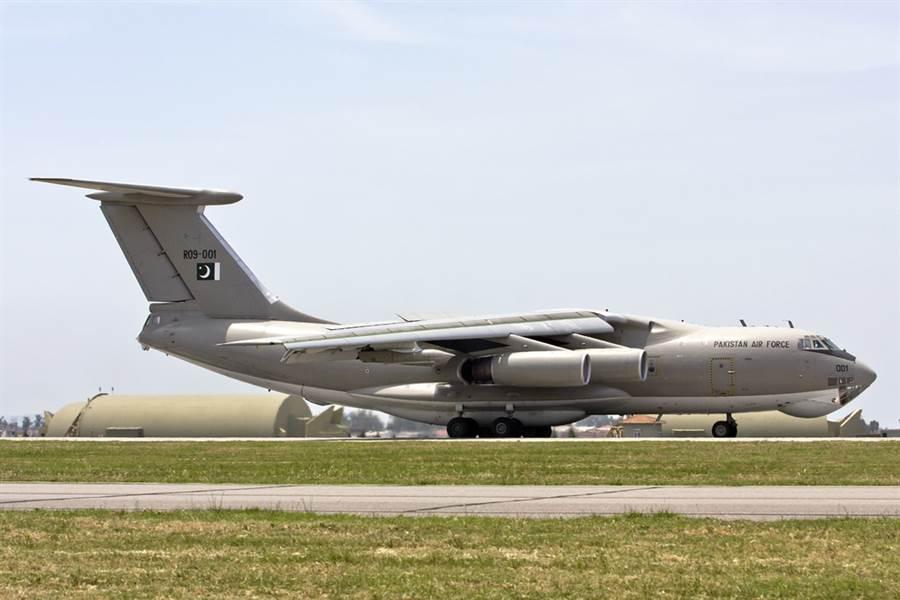 巴基斯坦空軍的IL-78。(圖/烏克蘭航空機械)