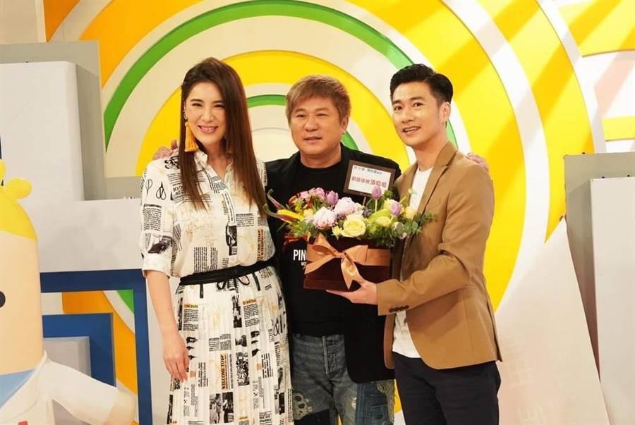 胡瓜去年5月特地為小禎新節目現身站台。(本報系資料照)