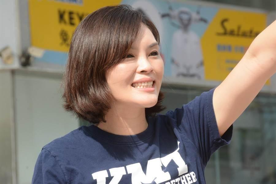 國民黨高市長補選參選人李眉蓁。(資料照,林宏聰攝)