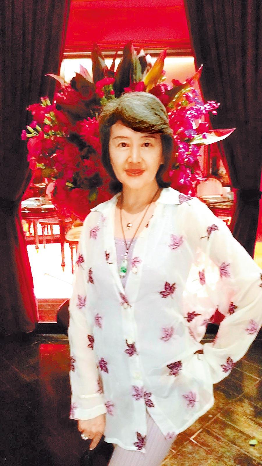 吳雪芬曾是玉女歌手,已息影15年。(吳雪芬提供)