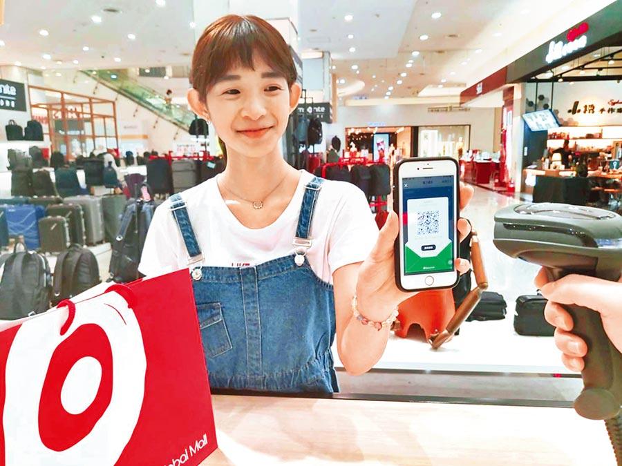 Global Mall推出使用政府振興券,綁定街口支付、Pi拍錢包、LINE Pay money、橘子支付、台灣Pay,最高回饋達21%。(Global Mall提供)
