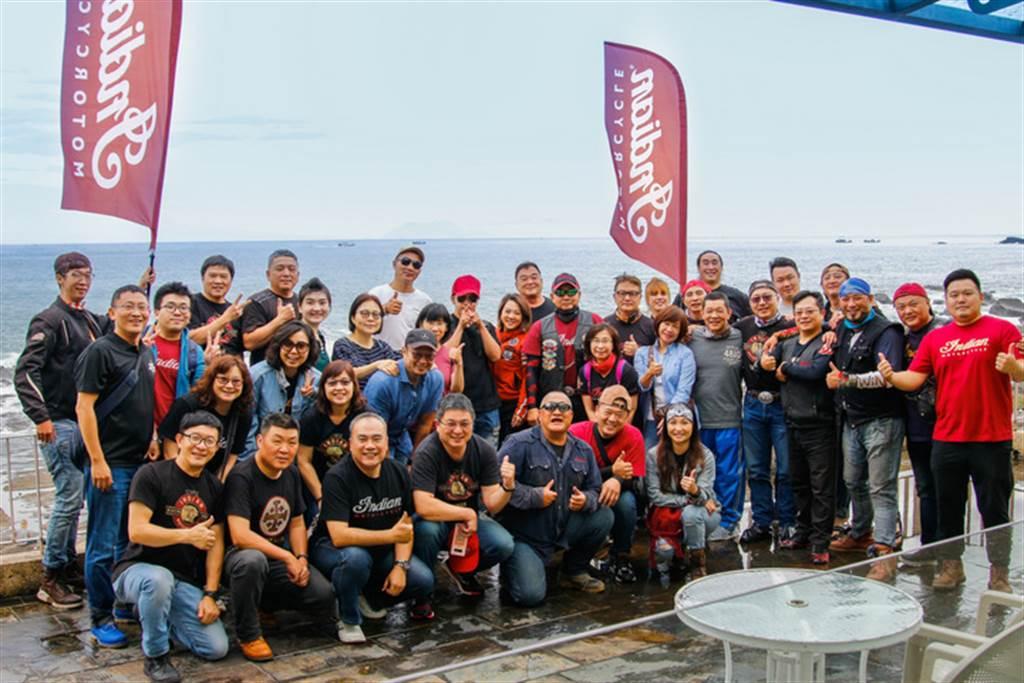 Indian Challenger台灣首度領牌 百位騎士歡慶環島冒險啟航