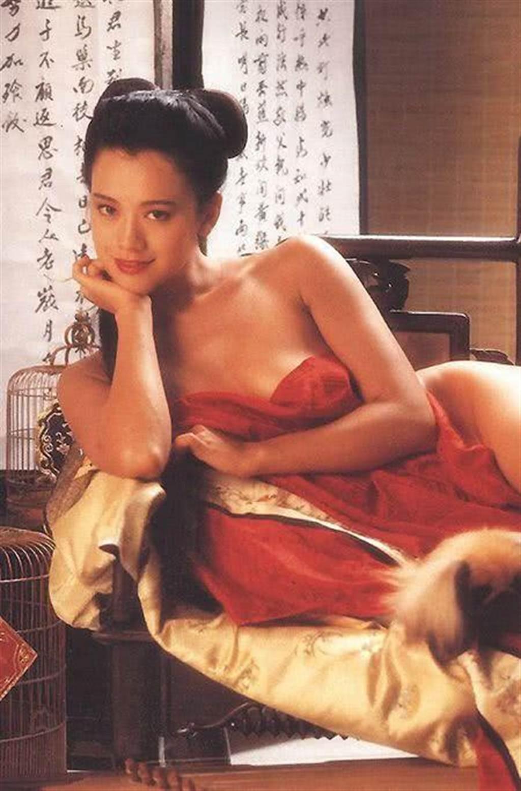 郭秀雲早期拍過三級片。(圖/翻攝自網路)