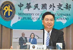 台灣為名 蔡政府首設海外代表處