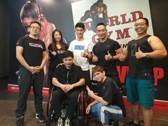 車禍輪椅代步 中市勞工局神救援 助教練重返健身行業