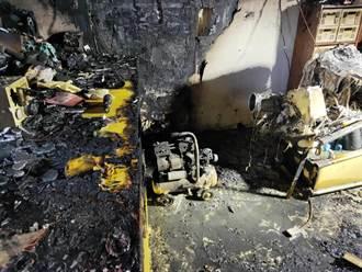 太平民宅火警6傷 2人意識不清 熱心民眾一度破門救人
