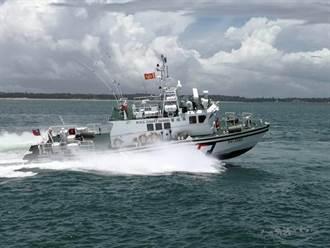 超快新艇報到  金門海巡再添生力軍