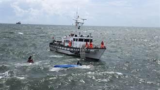 漢光演習預演傳意外 拖運靶材船翻覆2人落海