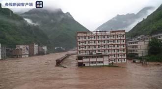 華南6月暴雨不斷 湖北已下了12個太湖雨量