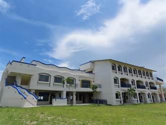 台灣本島最西國小 新校舍濃濃地中海風