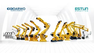 大沃提供全系列工业机器人 独家代理大陆领导品牌「埃斯顿」