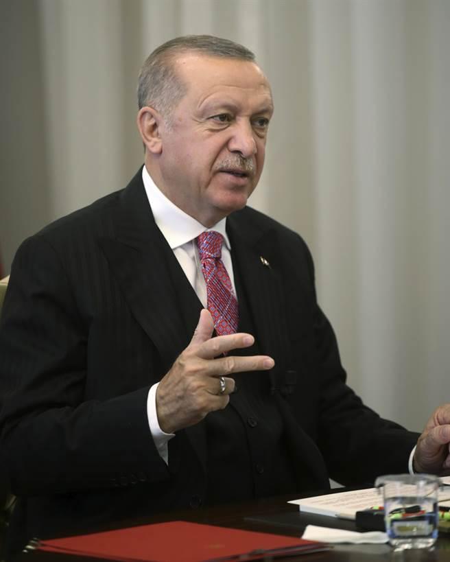 土耳其總統艾爾多安。(美聯社)