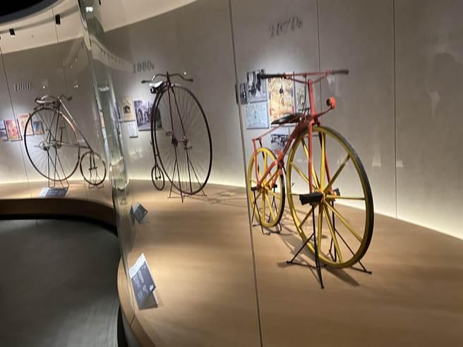 台灣之光!全球自行車文化探索館2日開幕。(盧金足攝)