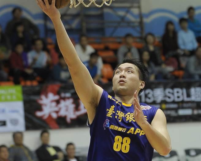 台銀前鋒龍弘元因為決定轉職到學校,2日宣告退役。(報系資料照、季志翔攝)