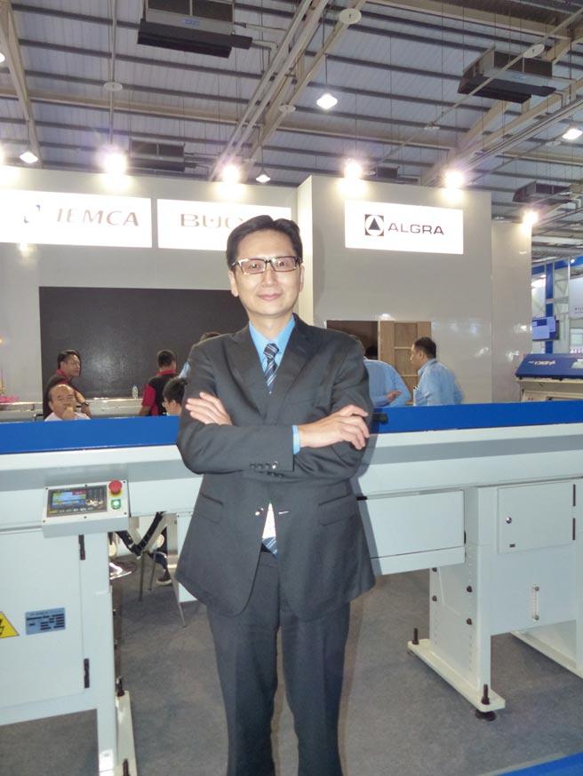 中義科技機械公司總經理李盈慶。圖/莊富安