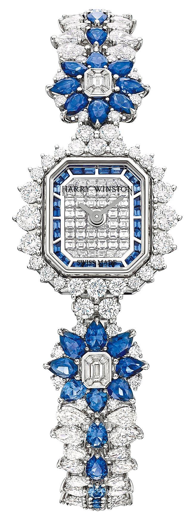 海瑞溫斯頓Marble Marquetry頂級珠寶表,約738萬元。(Harry Winston提供)