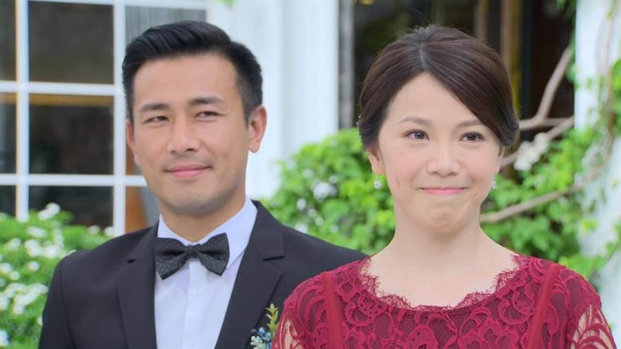 傅子純跟廖苡喬頂高溫拍攝《多情城市》重頭戲。(民視提供)