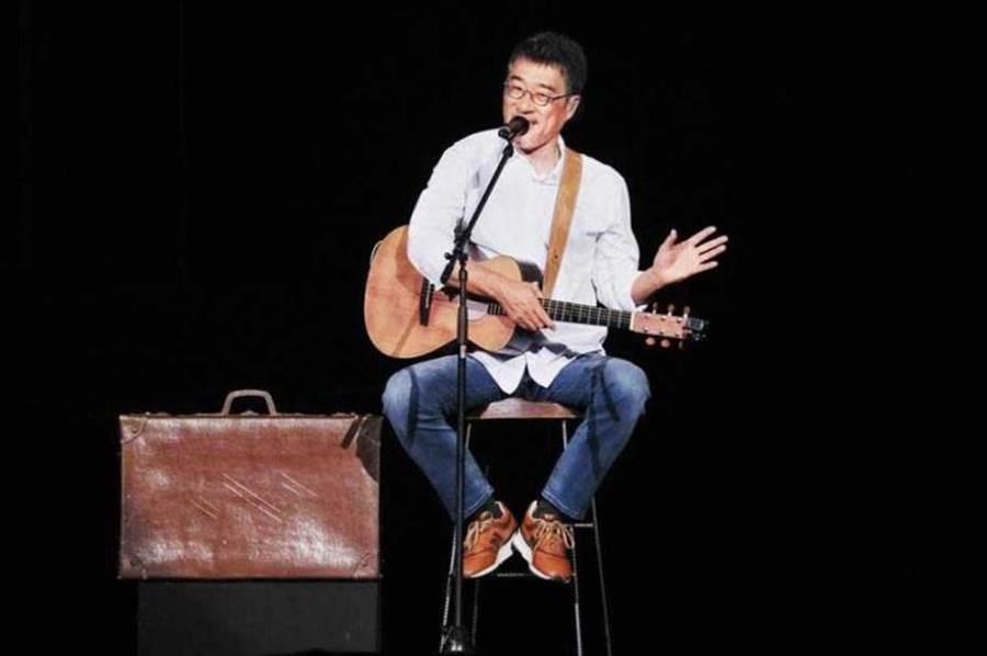 年初李宗盛在高雄開唱,難得大聊私事,透露老婆是高雄在地人(圖/相信音樂提供)