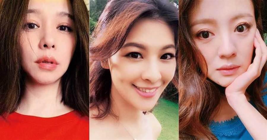 徐若瑄、林若亞、安以軒都是演藝圈中的稱職好繼母。(圖/翻攝自網路)