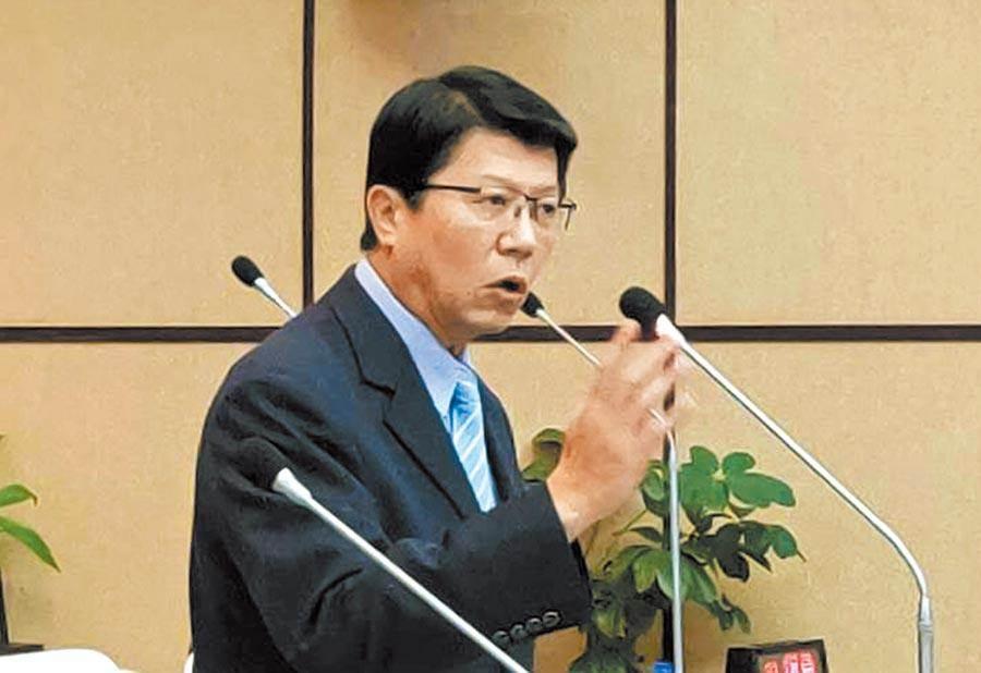 李眉蓁高雄補選團隊發言人、台南市議員謝龍介。(圖/本報資料照,洪榮志攝)