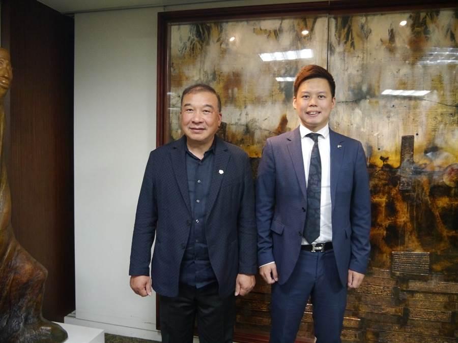 富旺國際董事長林正雄與總經理林宗毅合影/圖由業者提供