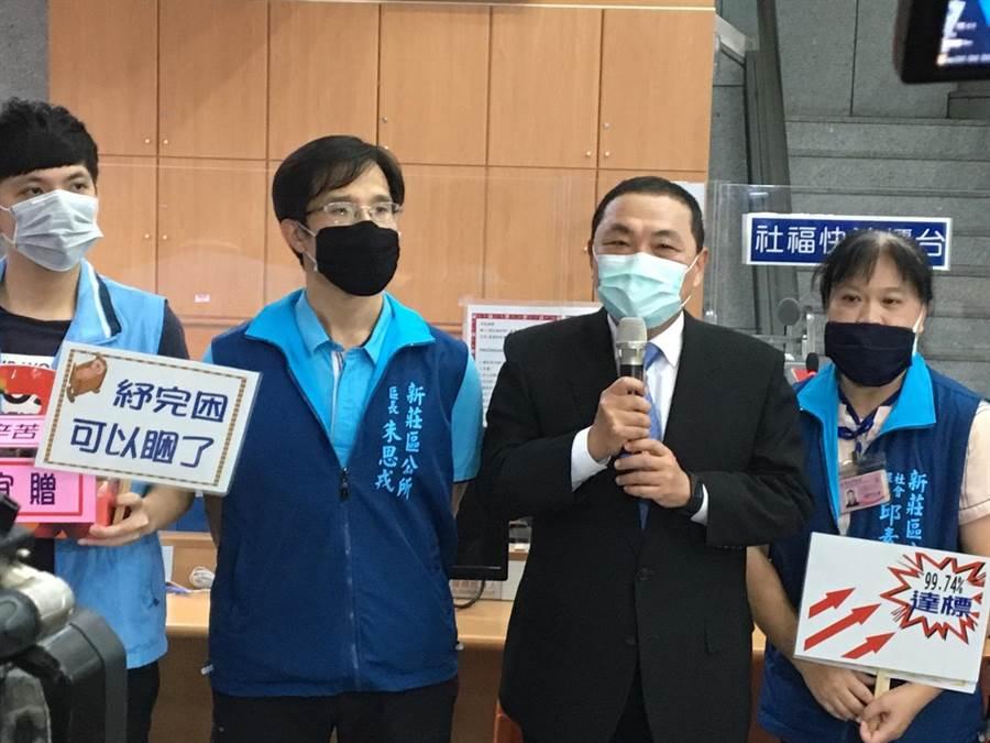 雙北升級YouBike 2.0不同調,新北市長侯友宜表示,將在7月8日與台北市坐下來協調。(賴彥竹攝)