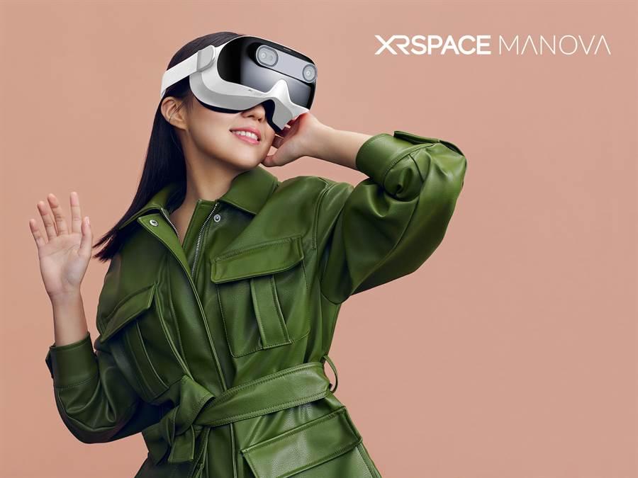 XRSPACE MANOVA VR一體機預計7月在台搭配中華電信5G方案開賣。(XRSPACE提供/黃慧雯台北傳真)