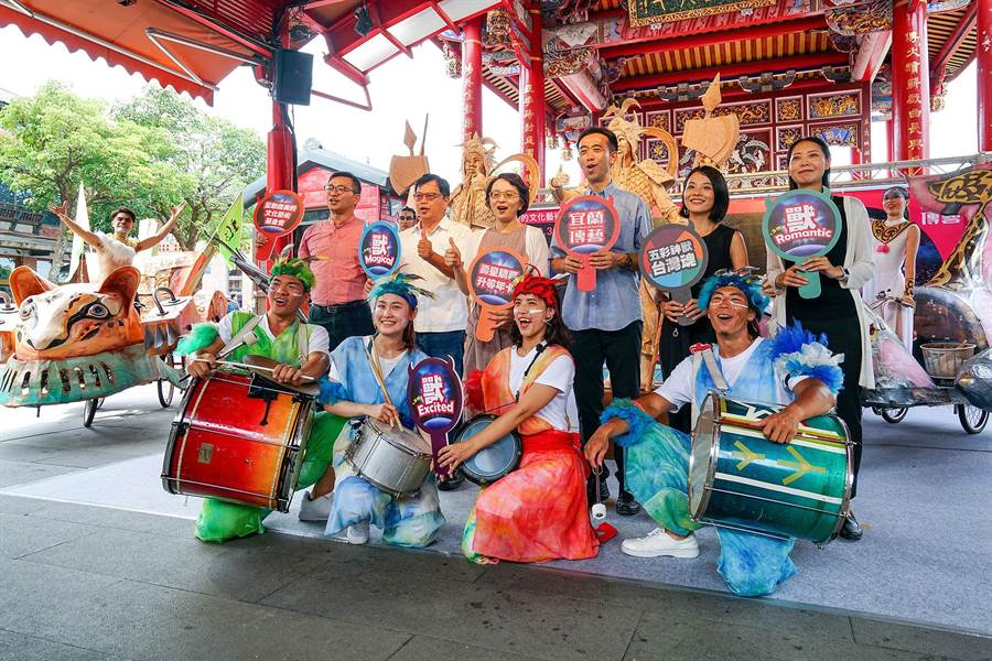 宜蘭傳藝園區在暑假期間推出各式活動與優惠。(李忠一攝)