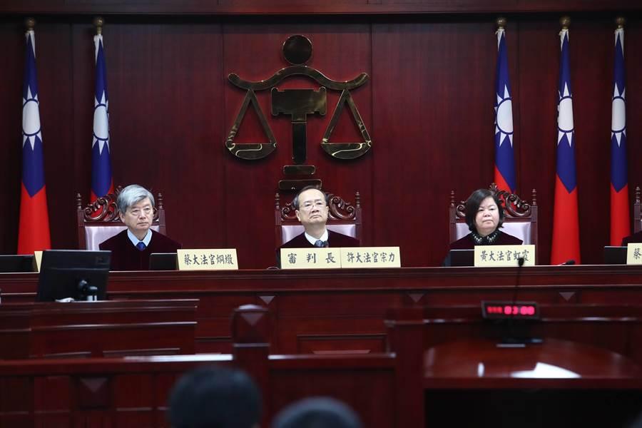 黨產條例大法官被聲請迴避,都遭駁回。(資料照)