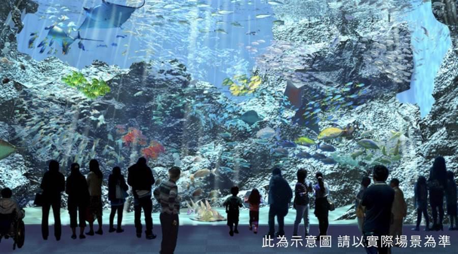 桃園最大最美水族館「Xpark」(圖取自 Xpark官網)