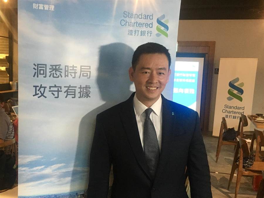 渣打銀行財富管理總處負責人陳太齡表示,未來半年到1年的美元指數或走貶5到7%。(圖:吳泓勳攝)
