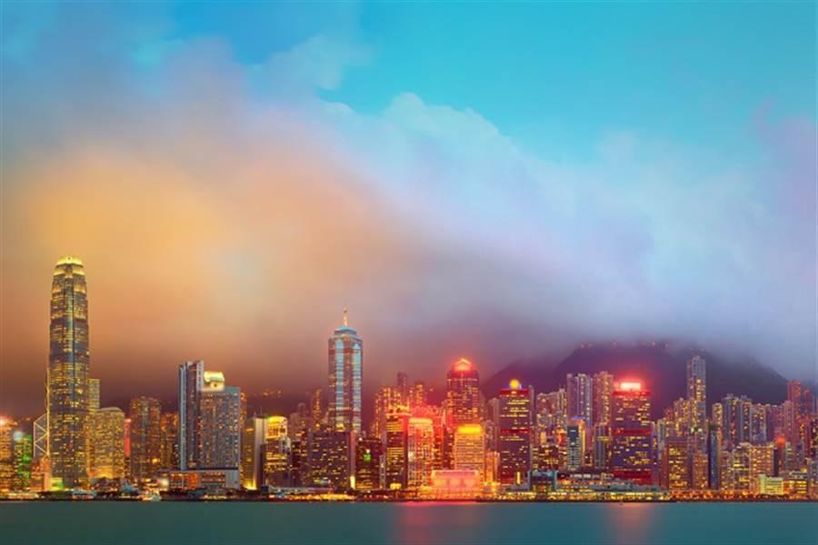 美「香港自治法案」參議院再一致通過,就等川普簽署後生效。(圖/達志影像)