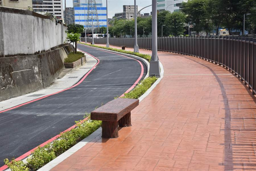 新北市中和區公所斥資2500萬元,貫通大排西側道路連城路至中正路段。(中和區公所提供)