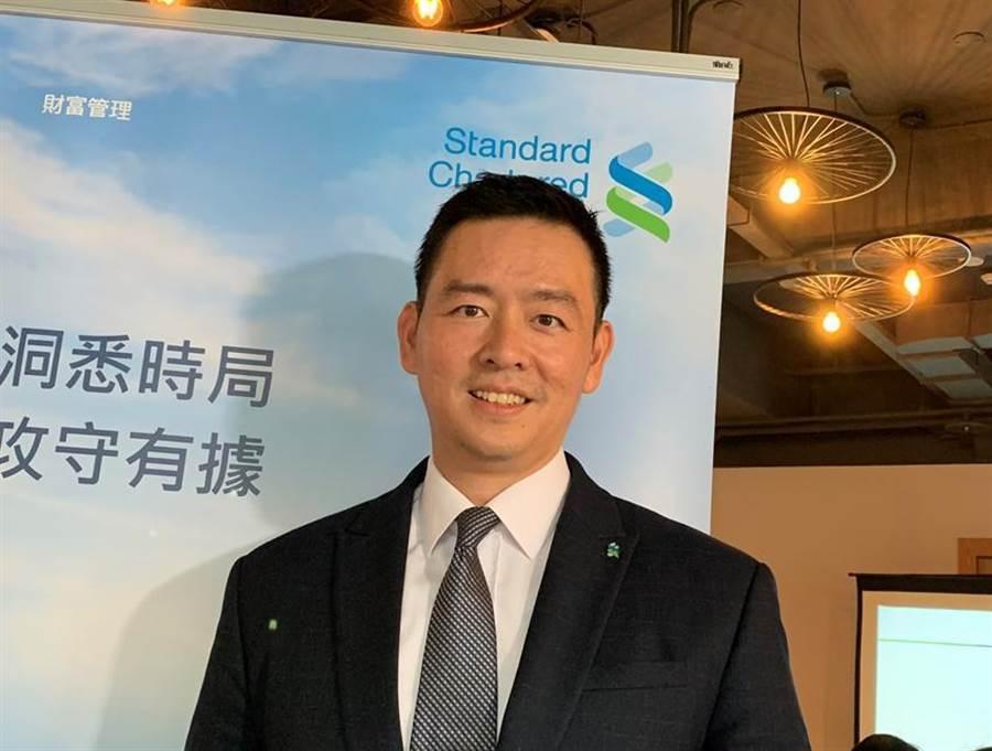 渣打銀行財富管理總處負責人陳太齡。(圖/陳碧芬)