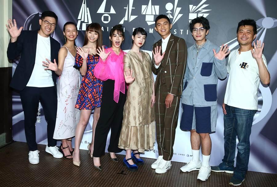 《哈囉少女》2日在台北電影節舉行世界首映。(粘耿豪攝)