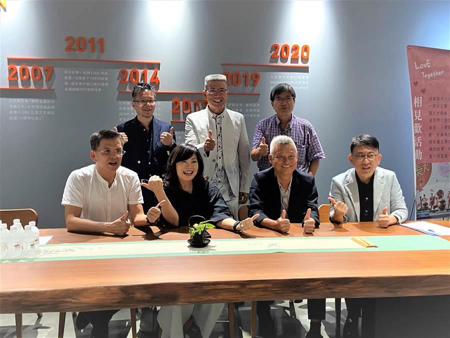 行善的企業家,展現愛的光芒!17年歷史的台灣行動菩薩助學協會2日舉辦第九屆理事長暨理監事交接典禮。(盧金足攝)