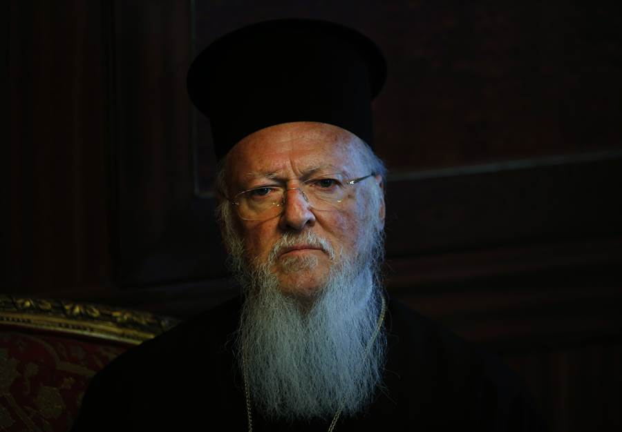 希臘正教大牧首巴塞洛繆,呼籲土耳其能保持聖索菲亞大教堂的原樣。(圖/美聯社)