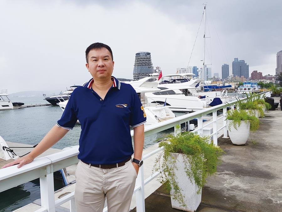 亞果遊艇集團董事長侯佑霖。圖/本報資料照片