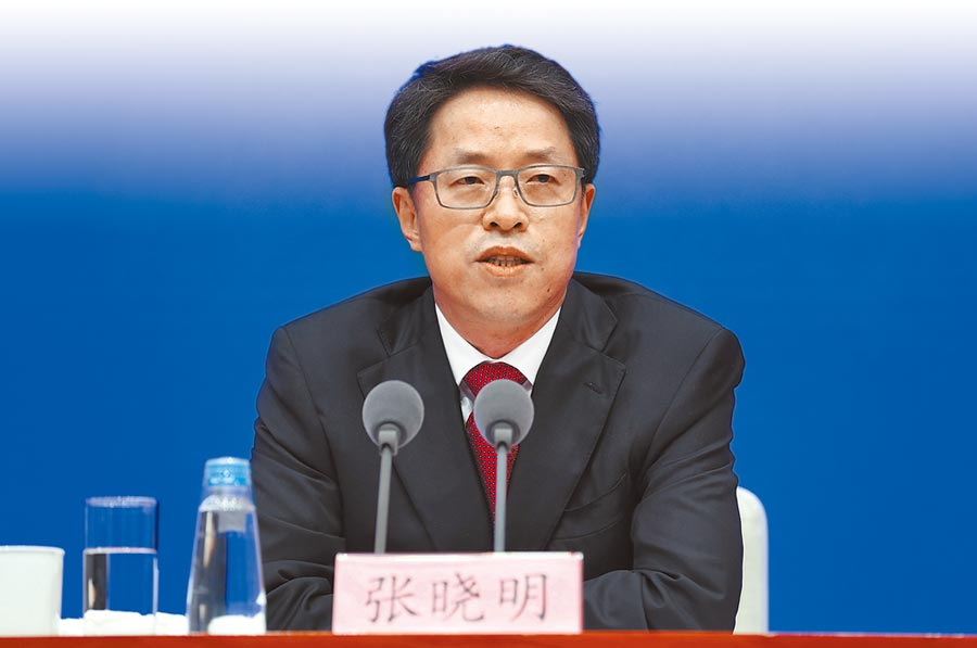 陸港澳辦副主任張曉明稱,「勾結外國或境外勢力」就是間諜罪。(中新社)