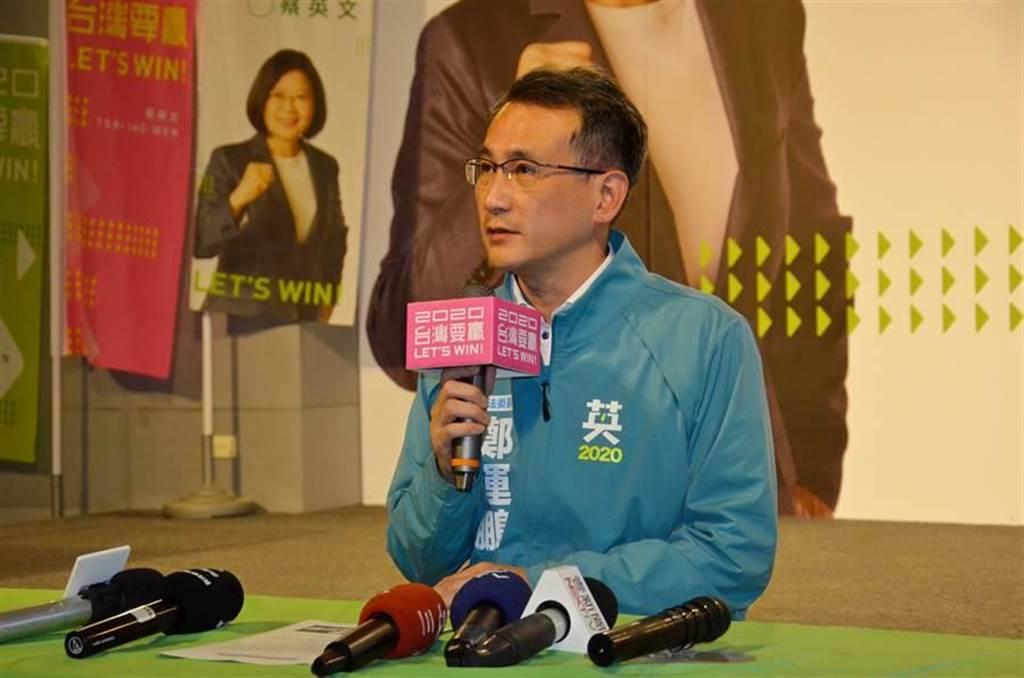 民進黨立法院黨團幹事長鄭運鵬。(報系資料照)