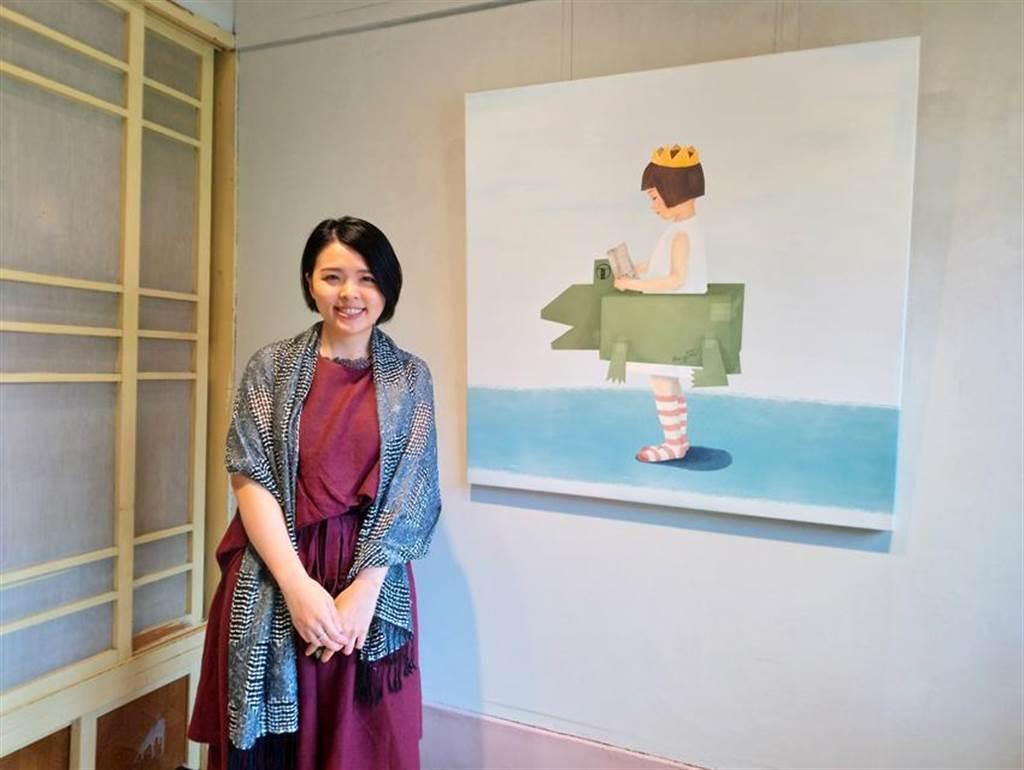 甫開幕的「民生路老宅56-3」,與視覺藝術家張為雲攜手推出「老宅日常」系列個展。圖/曾麗芳