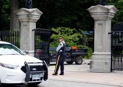 驚!加拿大武裝部隊成員持槍開卡車連破兩門 闖總理官邸被捕