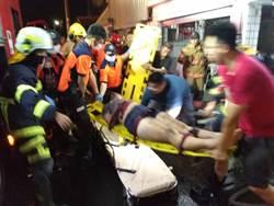 暗夜惡火!台南市鹽水驚傳火警 釀1死3傷