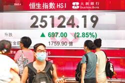 港股大漲2.85% 騰訊股價創新高