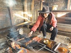 雪山上的烤肉香