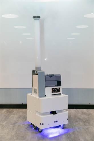 東元研發智慧UVC消毒防疫機器3日正式亮相