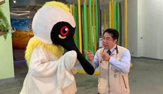 萬安演習將登場 黃偉哲與黑琵哥逗趣拍片提醒莫驚慌