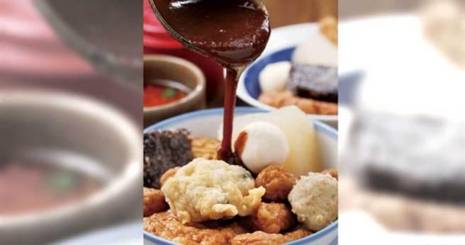「甜不辣」用料實在、分量又多,吸引不少國外觀光客慕名前來。(60元/大)(圖/于魯光攝)